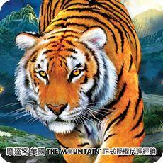 ~摩達客~^( ^)^(男女童^) 美國 The Mountain 3D虎純棉環保短袖T恤