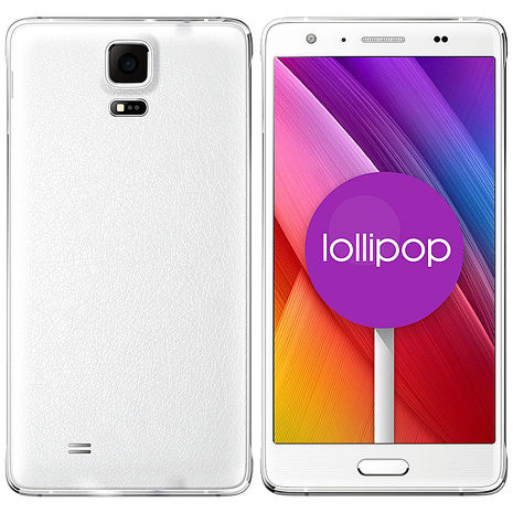 長江UTA HD-R金屬極薄系列4G LTE雙卡智慧手機白色