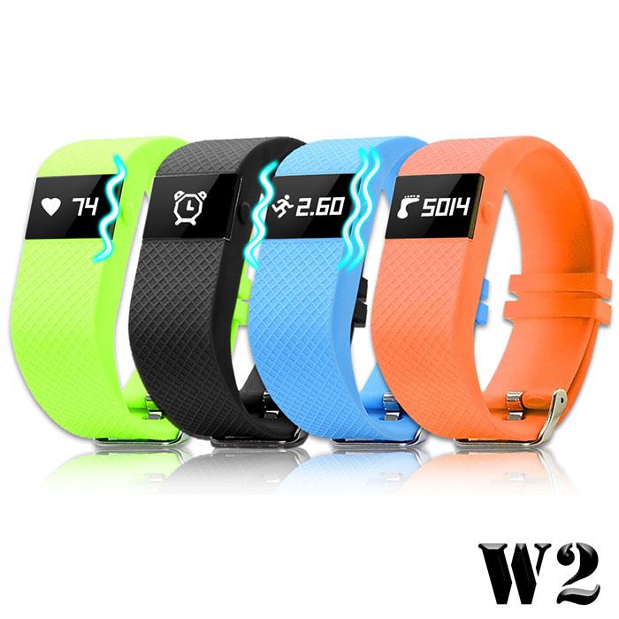 【長江】W2 亮彩藍牙心率手錶(OLED螢幕顯示)