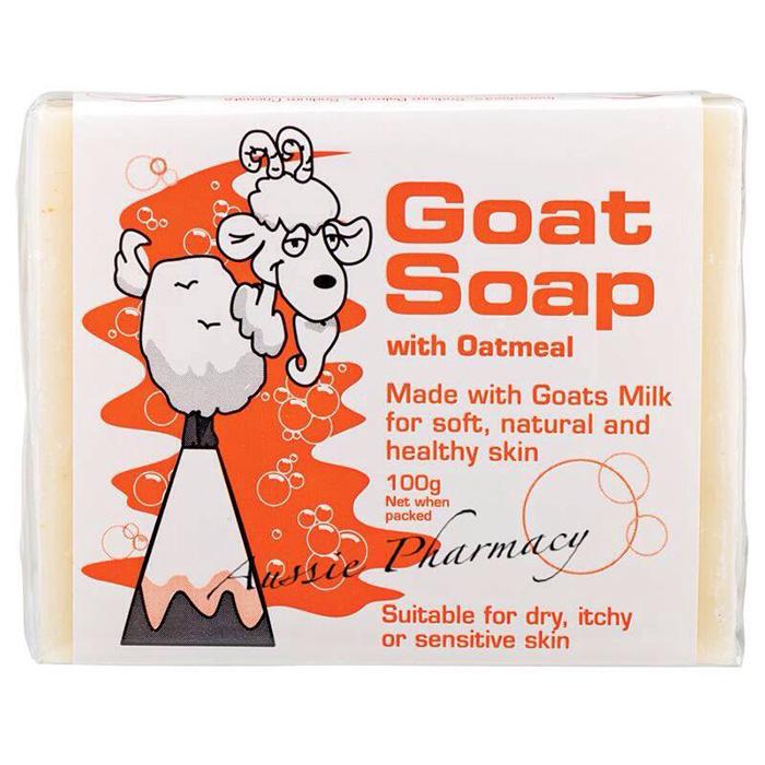 Goat Milk Soap澳洲純手工製作山羊奶皂-燕麥