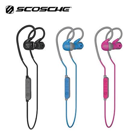 Scosche Sportclip Air HFBT300 運動藍牙耳機 藍芽4.1 IPX4防水 一對二 雙待 公司貨