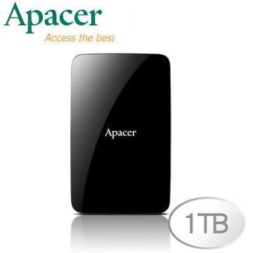 Apacer 宇瞻 AC233 1TB 2.5吋 USB 3.0 行動硬碟'活動'