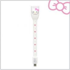 Hello Kitty 行動OTG USB 傳輸線~甜心白 ^(KT~OTG01P1^)