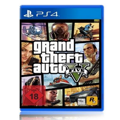 PS4遊戲《俠盜獵車手 5》-中英文合版