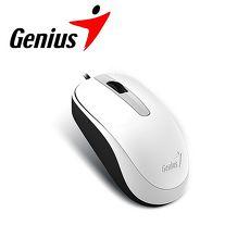 Genius 昆盈 DX~120 有線滑鼠~優雅白 ^(DX~120~WH^)