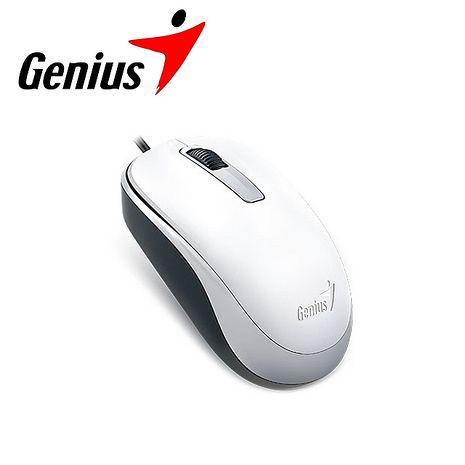 Genius 昆盈 DX-125 有線滑鼠-優雅白 (DX-125-WH)