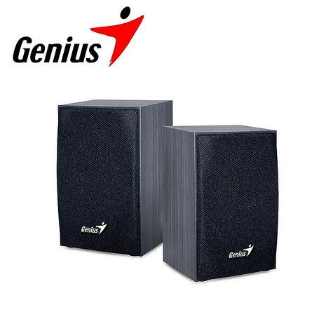 任選 Genius 昆盈 木質典雅音箱喇叭 SP-HF160