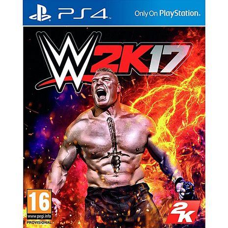 預購PS4遊戲  WWE 2K17-英文版