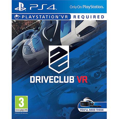PS4 VR專用 駕駛俱樂部 VR-中英文合版