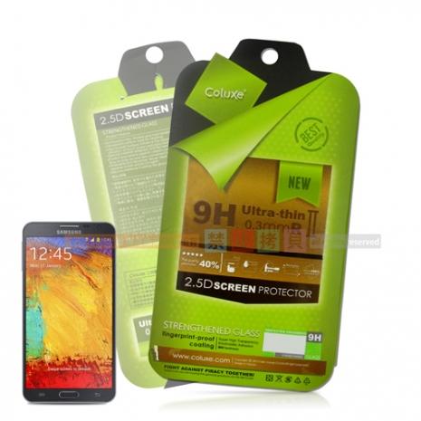 Coluxe Samsung Galaxy Note3 Neo 防爆耐刮鋼化玻璃保護貼