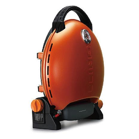 烤肉神器【O-Grill 3000T 】美式時尚可攜式瓦斯烤肉爐-經典橘