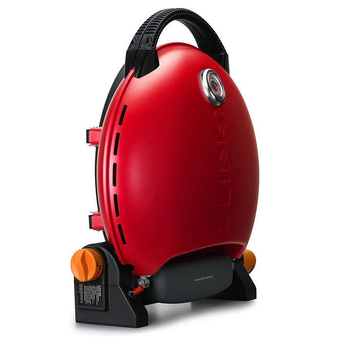 烤肉神器【O-Grill 3000T】 美式時尚可攜式瓦斯烤肉爐-熱情紅