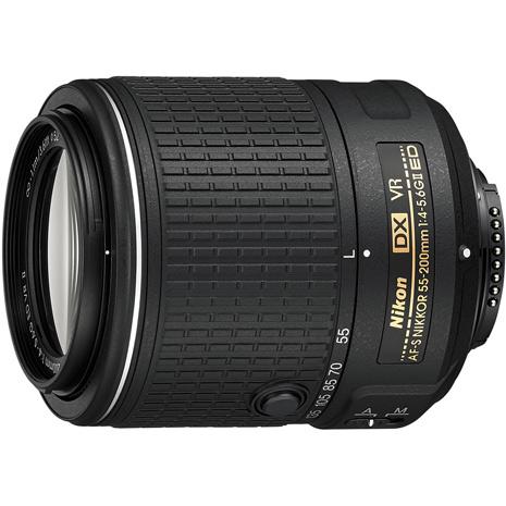 NIKON AF-S DX NIKKOR 55-200mm f/4-5.6G ED VR II 二代鏡(平輸)-