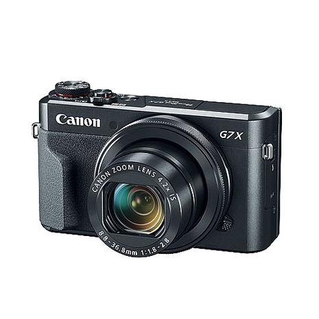 CANON  PowerShot G7X Mark II (公司貨)-送32G記憶卡+皮套+清潔組+保護貼