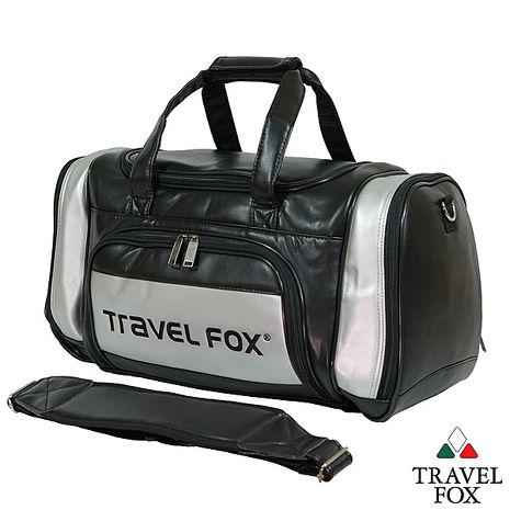 Travel Fox 旅狐乾濕分離休閒運動衣物袋(銀)(TB036-60)【預購】