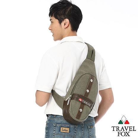 Travel Fox 旅狐十字軍單肩斜背包(綠)(TB346-17)【預購】