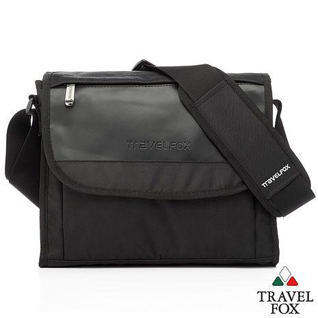 Travel Fox 旅狐歐格納鑽紋側背包(黑)(TB599-01)【預購】