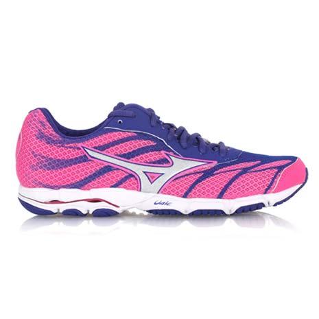 【MIZUNO】女路跑鞋 WAVE HITOGAMI 3- 慢跑 美津濃 螢光粉銀