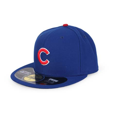 【MLB】NEW ERA 小熊隊帽-AC- 59FIFTY 正式球員帽 藍紅