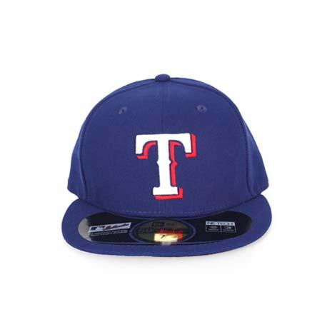 【MLB】NEW ERA 遊騎兵隊帽-AC- 球員帽 59FIFTY 德州 藍白紅