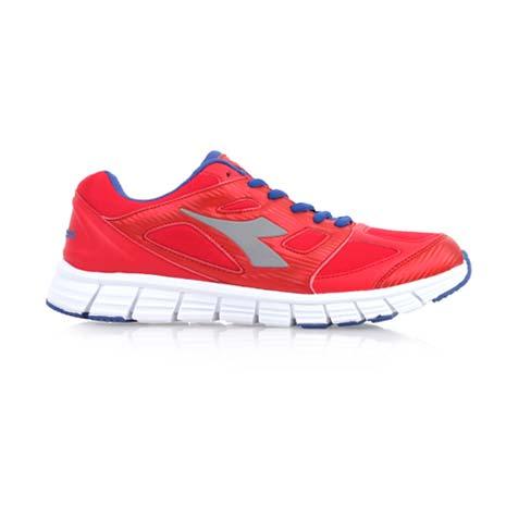 【DIADORA】男慢跑鞋-路跑 運動鞋 紅藍