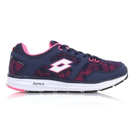 【LOTTO】女輕量慢跑鞋 II-路跑 慢跑 運動鞋 丈青粉紅