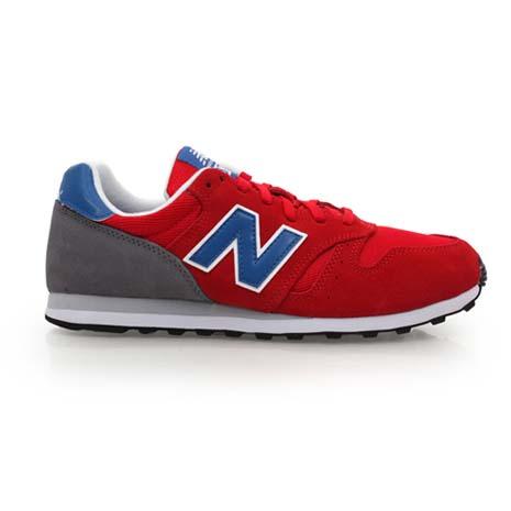 【NEWBALANCE】373系列 男復古慢跑鞋- 路跑 NB N字鞋 紅藍灰