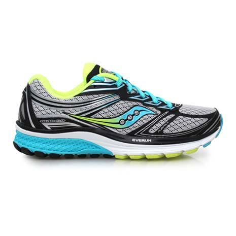【SAUCONY】GUIDE 9 女慢跑鞋- 路跑 健身 訓練 索康尼 灰黑藍