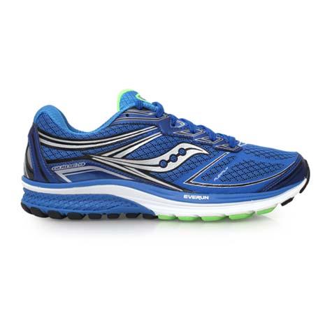 【SAUCONY】GUIDE 9 男慢跑鞋- 路跑 索康尼 寶藍銀