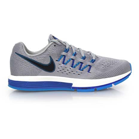【NIKE】AIR ZOOM VOMERO 10 男慢跑鞋- 路跑 灰藍