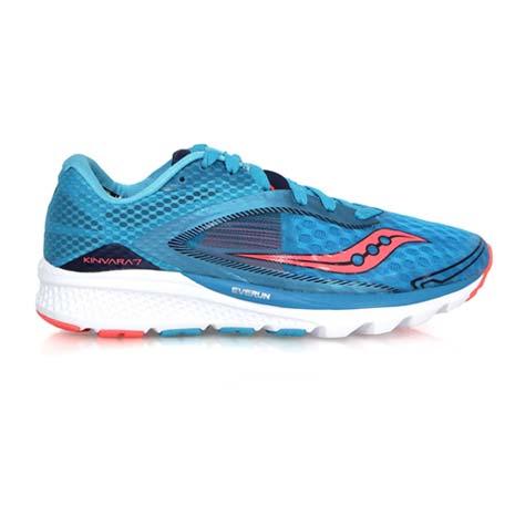 【SAUCONY】KINVARA 7 女自然系列慢跑鞋- 路跑 索康尼 淺藍粉