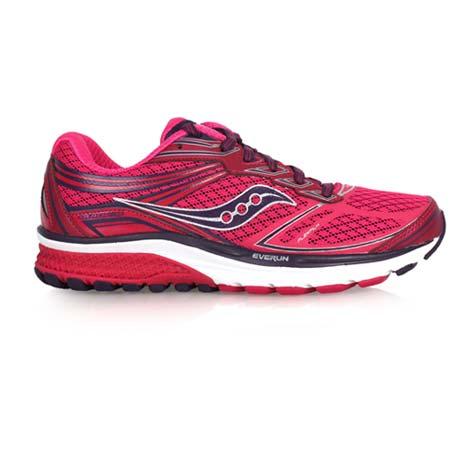 【SAUCONY】GUIDE 9 女慢跑鞋- 路跑 健身 訓練 索康尼 桃紅紫
