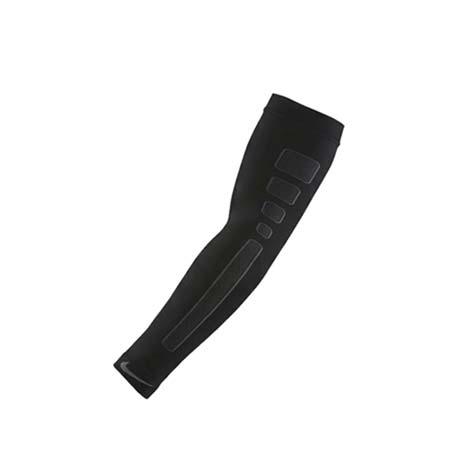 【NIKE】袖套-1只-自行車 高爾夫 抗紫外線 籃球 棒球 防曬 黑灰