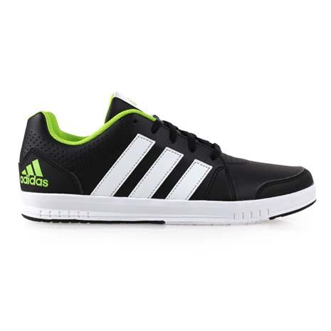 【ADIDAS】LK TRAINER 7 K男訓練鞋- 愛迪達 慢跑 路跑 黑綠白