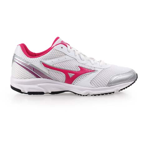 【MIZUNO】MAXIMIZER 18 女慢跑鞋- 美津濃 路跑 訓練 白桃紅紫