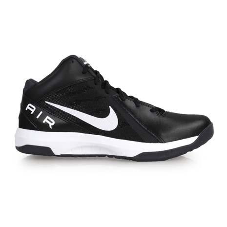 【NIKE】THE AIR OVERPLAY IX 男籃球鞋- 高筒 黑白