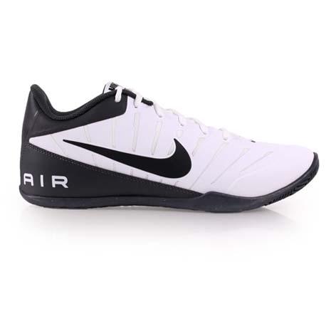 【NIKE】AIR MAVIN LOW 2 男子室內籃球鞋- 低筒 白黑