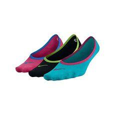 ~NIKE~三包裝女子船襪~短襪 襪子 踝襪 黑藍粉