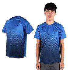 ~UNDER ARMOUR~UA HG SUBLIMATED男短袖T恤 藍丈青