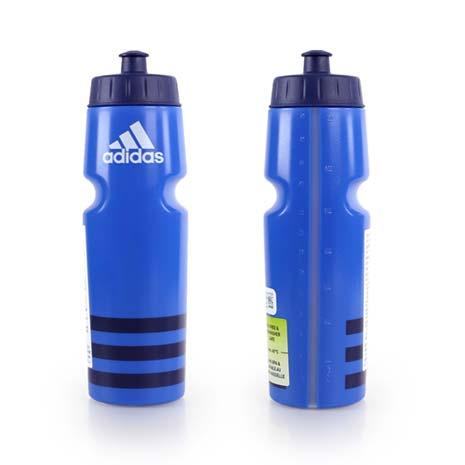 【ADIDAS】運動水壺-750ML -愛迪達 單車 自行車 慢跑 路跑 藍丈青