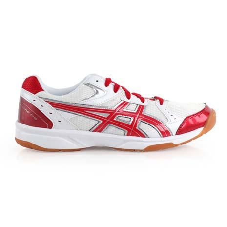【ASICS】RIVRE CS 男女排球鞋- 羽球鞋 亞瑟士 白紅