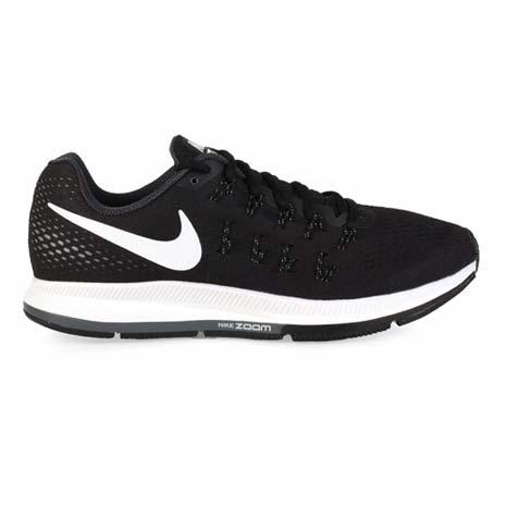 【NIKE】AIR ZOOM PEGASUS 33 男慢跑鞋-路跑 夜跑 黑白