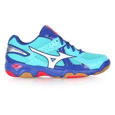 ~MIZUNO~WAVE TWISTER 4女排球鞋~ 美津濃 水藍桃紅