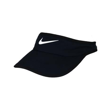 【NIKE】運動帽 -中空帽 遮陽 高爾夫 帽子 路跑 慢跑 丈青白