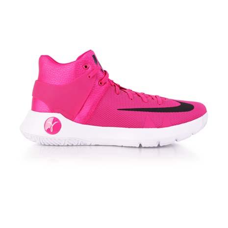 【NIKE】KD TREY 5 IV EP 男籃球鞋-杜蘭特 高筒 粉紅白
