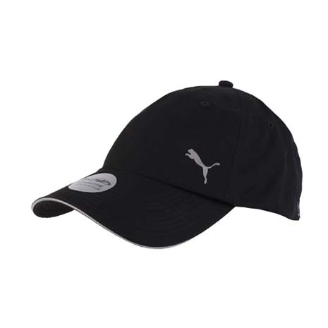 【PUMA】DRYCELL 慢跑系列棒球帽 -路跑 帽子 運動帽 鴨舌帽 防曬 黑