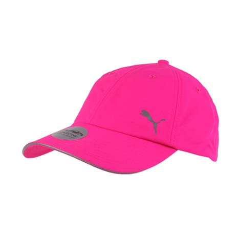 【PUMA】DRYCELL 慢跑系列棒球帽 -路跑 帽子 運動帽 鴨舌帽 防曬 螢光粉