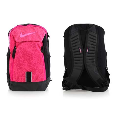 【NIKE】後背包-雙肩包 旅行包 17吋筆電 黑粉