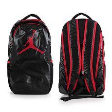 ~NIKE~JORDAN TRAINING DAY後背包~喬丹雙肩包 18吋筆電 黑紅