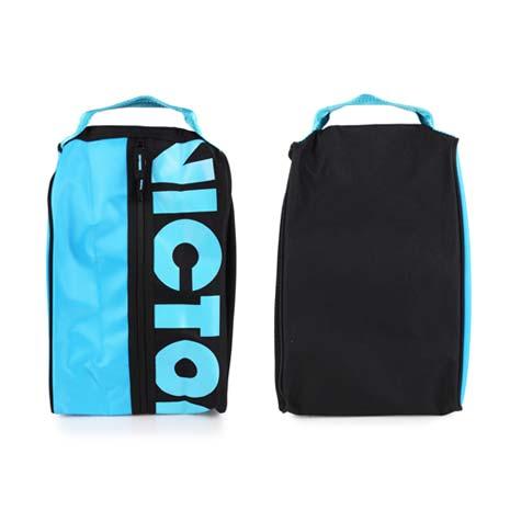 【VICTOR】鞋袋 -旅行 手拿袋 手提袋 收納袋 勝利 黑水藍
